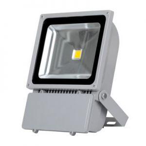 Светодиодный прожектор 80 ватт 220В в уличном корпусе Exmork