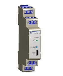OB-216 Modbus модуль ввода-вывода цифровой Новатек-Электро
