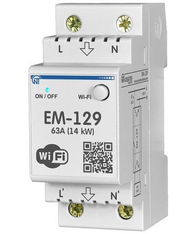 ЕМ-129 Новатек-Электро Wi-Fi Счетчик электроэнергии с функцией защиты и управления