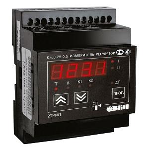 2ТРМ1-Д.У.ИУ измеритель-регулятор двухканальный на дин рейку