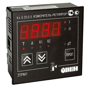 2ТРМ1-Щ11.У.РР измеритель-регулятор двухканальный щитовой
