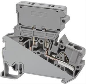 PYK 4S (5x25) клемма для установки предохранителей Klemsan