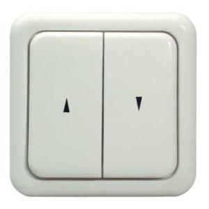 Выключатель клавишный для скрытой проводки (дизайн Regina) СкетчНероГрупп