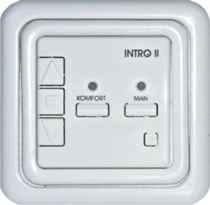 Диммер для ламп накаливания с лицевой панелью Intro II 8521-50 СкетчНероГрупп