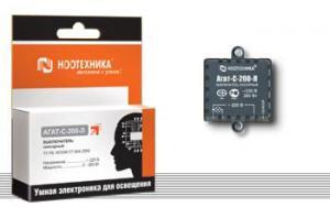 Сенсорный выключатель «Агат-C-200-Л»  Ноотехника