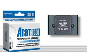 Диммер (светорегулятор) «Агат-1000»  Ноотехника