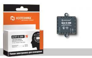Диммер (светорегулятор) «Агат-C-200»  Ноотехника