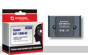 Таймер отключения освещения БЗТ-1000-ОС  Ноотехника