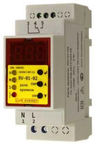Реле времени RV-01-02 Line Energy