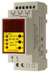 Реле времени RV-01-30 Line Energy