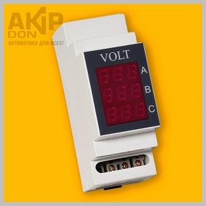 VOLT AKIP-DON вольтметр трёхфазный