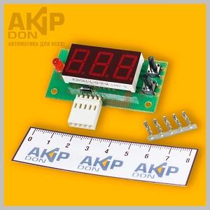 ВРПТ-056 AKIP-DON контроллер заряда-разряда реле напряжения постоянного тока