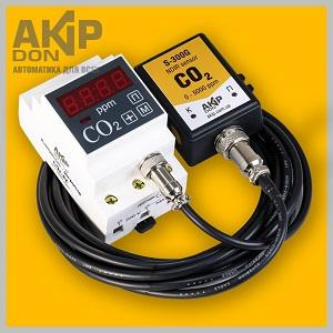 Измеритель-регулятор углекислого газа с выносным датчиком CO2-ex AKIP-DON