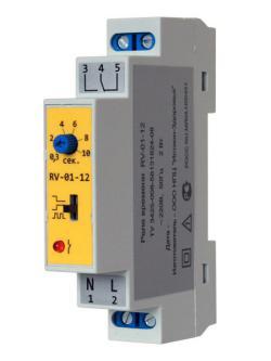 Реле времени RV-01-12 Line Energy