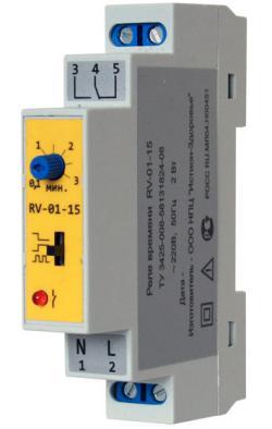 Реле времени RV-01-15 Line Energy