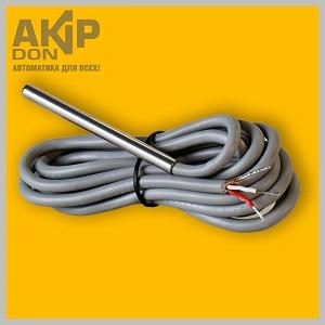 DS18B20-3w6 AKIP-DON датчик влагозащищённый в гильзе 6 см