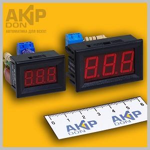Вольтметр переменного тока щитовой В-f AKIP-DON