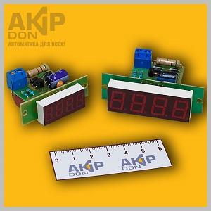 Частотомер сети 50 Гц ЧС AKIP-DON