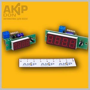 Вольтметр — частотомер сети 50 Гц ВЧС AKIP-DON