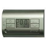 Комнатный термостат Finder DC - Титановый металлик