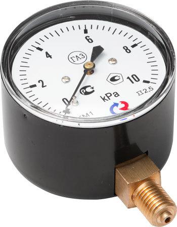 Манометры Росма для измерения низких давлений газов