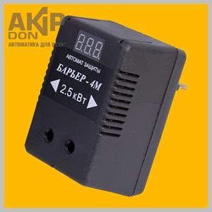 Барьер-4М AKIP-DON реле напряжения для защиты бытового оборудования
