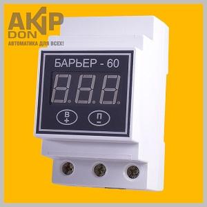 Барьер-60А AKIP-DON автомат защиты от перепадов напряжения