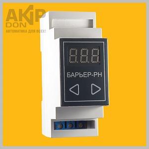 Барьер-РН AKIP-DON реле напряжения на DIN-рейку для защиты от скачков напряжения