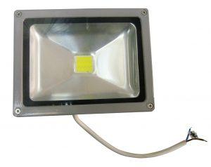 Светодиодный прожектор 30 ватт 12/24В в уличном корпусе Exmork