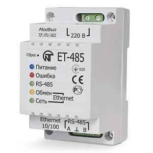 Преобразователь интерфейсов ET- 485 NOVATEK ELECTRO
