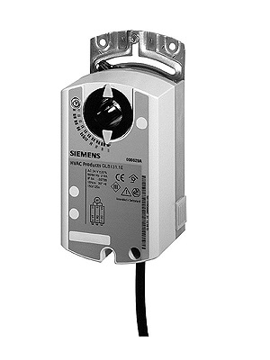 GLB131.1E привод воздушной заслонки поворотного типа Siemens