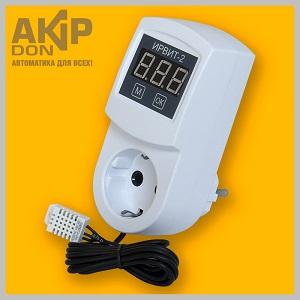 ИРВИТ-2 AKIP-DON измеритель-регулятор влажности или температуры