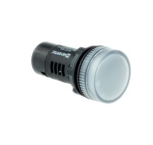 MT22-A31 Metertec сигнальная лампа белого цвета