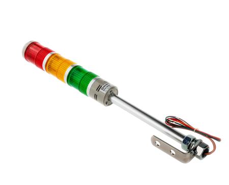 MT45-RYG24 Meyertec светосигнальная колонна 24В AC/DC