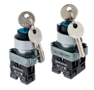 MTB2-BGZ112, MTB2-BGZ133 переключатели с ключом Meyertec