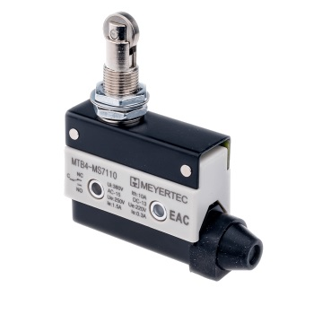 MTB4-MS7110 концевой выключатель с поворотным нажимным роликом Meyertec