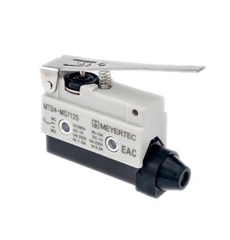 MTB4-MS7125 концевой выключатель с нажимным рычагом Meyertec