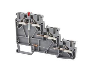 PYK 3S NPN 24VDC трёхуровненвые прижимные клеммы со светодиодом для датчиков Klemsan