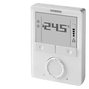 RDG100 - Комнатный термостат для фэнкойлов и универсальных приложений ОВК' AC 230 V Siemens