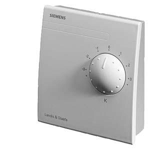 QAA27 - Комнатный модуль с датчиком температуры и задатчиком уставки Siemens