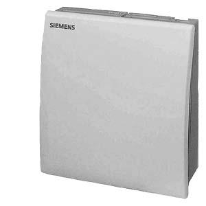 QFA2020 - Комнатный датчик для измерения влажности (DC 0...10 В) и температуры (LG-Ni1000) Siemens