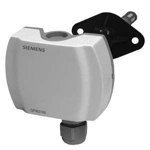 QFM2160 - Канальный датчик влажности (DC 0...10 В) и температуры (DC 0...10 В) Siemens