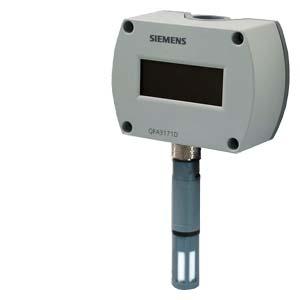 QFA3101 - Комнтаный датчик влажности (4...20 мA) Siemens