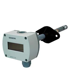 QFM3160D - Канальный датчик влажности (DC 0...10 В) и температуры (DC 0...10 В)  Siemens