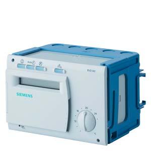 RVD140-A - Контроллер, 8 запрограммированных типов систем, инструкции на языках da, de, en, fi, fr, it, sv  Siemens