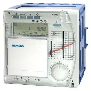 RVL480 - Контроллер отопления дляуправления одним контуром отопления или температурой котла Siemens