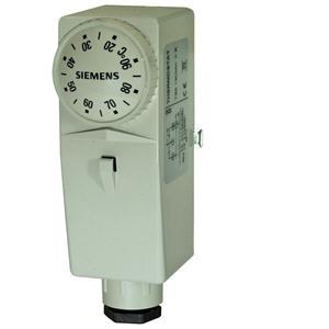 RAM-TR.2000M - Накладной регулятор температуры, 0...90 °C, фиксирующая пружина, внешний задатчик уставки Siemens