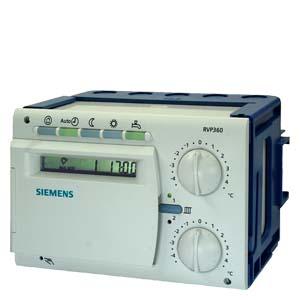 RVP361 контроллер отопления для 2 отопительных контуров и ГВС Siemens