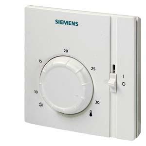 RAA31 электромеханический комнатный термостат с переключателем вкл/выкл Siemens