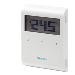 RDD100 - Комнатный термостат с LCD дисплеем, AC 230 В  Siemens